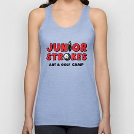 Junior Strokes Camp Unisex Tank Top