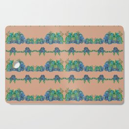 Large Succulent Elephant Family Cutting Board