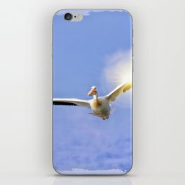 On the Angel's Wings iPhone Skin