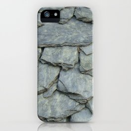 Roof stones iPhone Case
