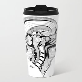Profil Metal Travel Mug