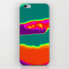 Psychedelic Hamburger iPhone & iPod Skin