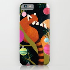 Red Pandas in Christmas Tree Slim Case iPhone 6s
