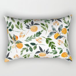 Orange Grove Rectangular Pillow