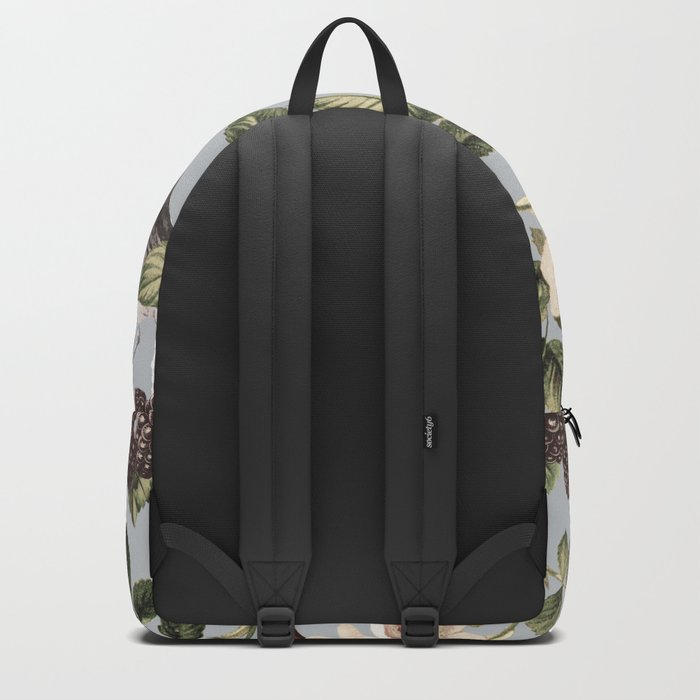Birds and the Bees Gray Backpack