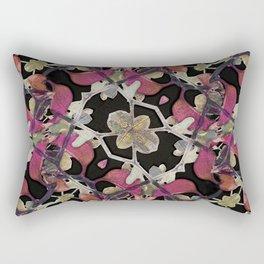 Floral Arabesque New Noveau Decorative Pattern Rectangular Pillow