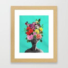 Alien Bouquet  Framed Art Print