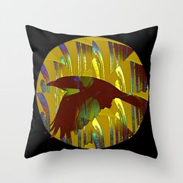 The rook and the moon Throw Pillow