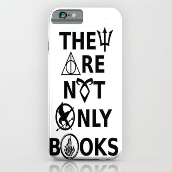 They Are Not Only Books iPhone & iPod Case