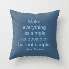 Simpler Throw Pillow