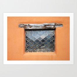 pueblo window Art Print