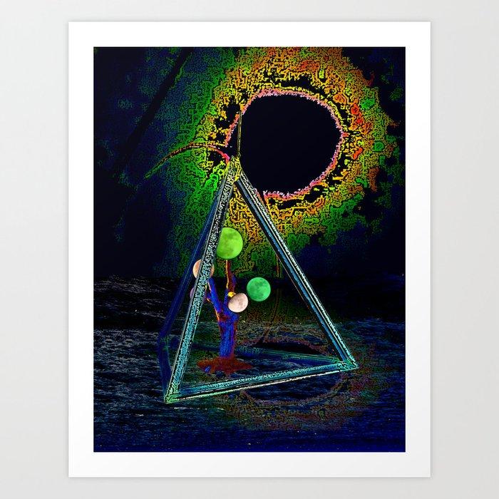 Luna Module Art Print
