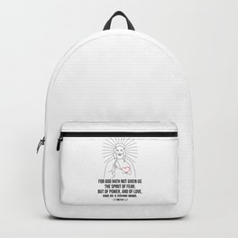 For God Hath Not Given Us Backpack