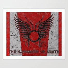 The Harbinger of Death Art Print
