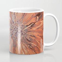 Brown flower Coffee Mug