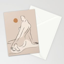 Nude 2 Stationery Cards