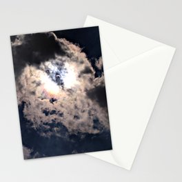 Solar Eclipse Butterfly Effect Stationery Cards