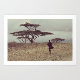 Serengeti Muvulana Art Print