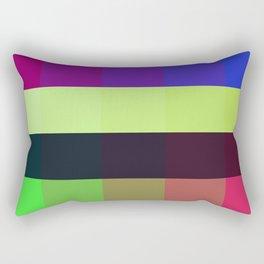 Colour Contrast Rectangular Pillow