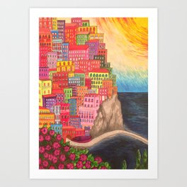 The Cinque Terre, Italy Art Print