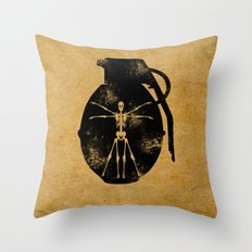 Tool of Death Throw Pillow