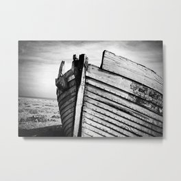 An old wreck Metal Print