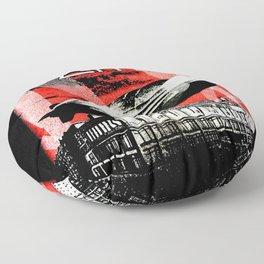 Red Zeppelin Floor Pillow
