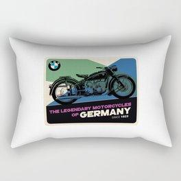 bmw legendary motorcycle Rectangular Pillow