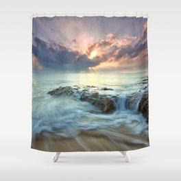 Swept Shower Curtain