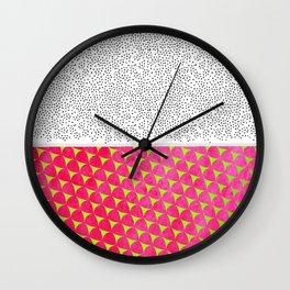 Dragon Fruit Deconstructed Wall Clock