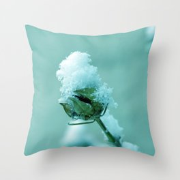 Masked :) Throw Pillow