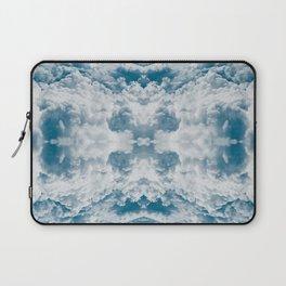 Heavenly Clouds Mandala | X Marks the Spot Laptop Sleeve