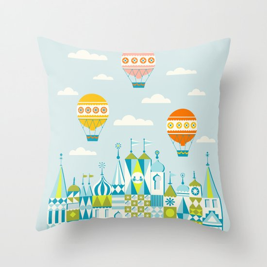 Small Magic Throw Pillow