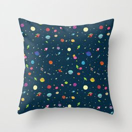 Starships Throw Pillow