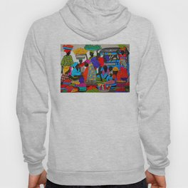 African marketplace 2 Hoody