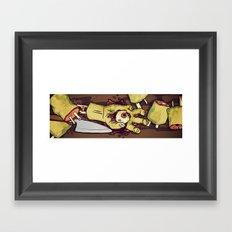 Zombie Sushi Framed Art Print