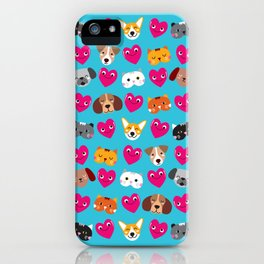 Cat Loves Dog Loves Cat iPhone Case