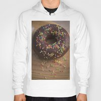donut Hoodies featuring Donut by LaiaDivolsPhotography