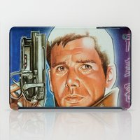 runner iPad Cases featuring Blade runner by calibos