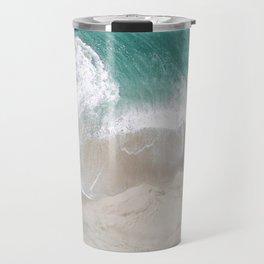 beach ariel Travel Mug