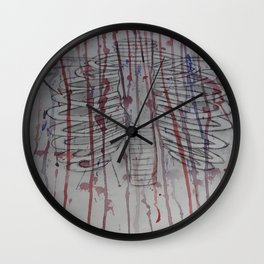 The poison is back and it's killing your garden.  Wall Clock