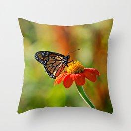 Monarch Butterfly #2 Throw Pillow