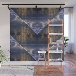Water and Clouds Wall Mural