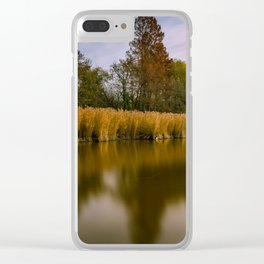 Tranquility Clear iPhone Case