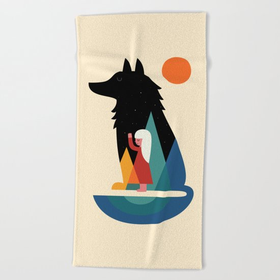 Best Friend Beach Towel