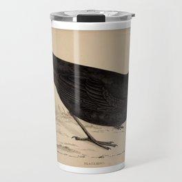 Naturalist Blackbird Travel Mug