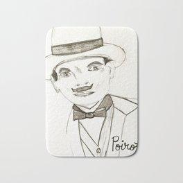 David Suchet as Hercule Poirot Bath Mat
