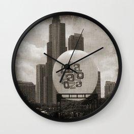lollapalooza Wall Clock