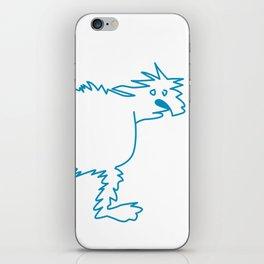 Ice Dog iPhone Skin