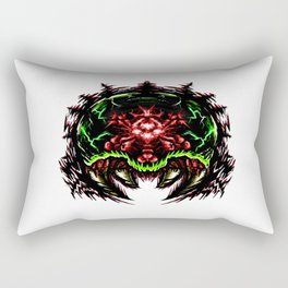 Super Metroid: Angry Baby Graphic Rectangular Pillow